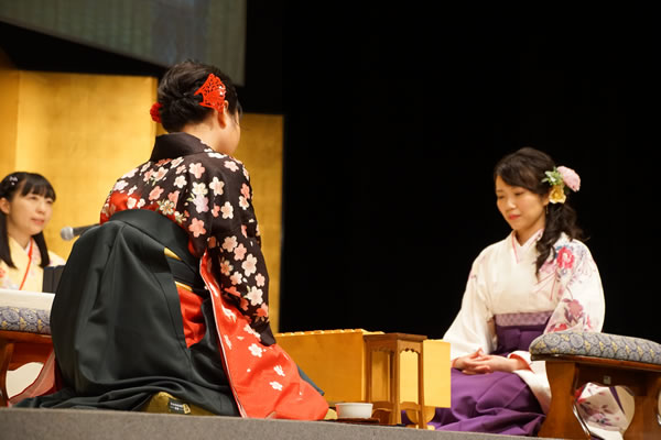 第十回「将棋対局~女流棋士の知と美~」